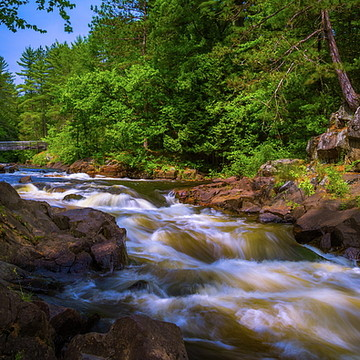Waterfalls Rapids and Rivers Collection