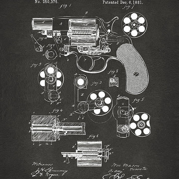 Weapons and Warfare Patent Art Collection