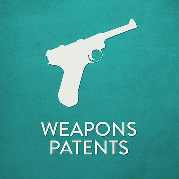 Weapons patents Collection