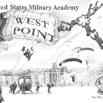 West Point Parachute Team Collection
