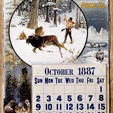 Winchester Original Calendar Reproductions Collection