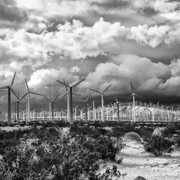 Wind Turbines Palm Springs Collection