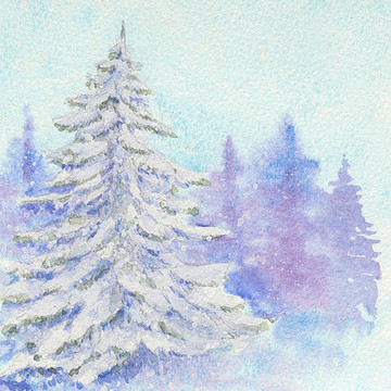 Winter and Christmas in paintings Collection
