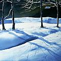 Winter Landscapes Watercolours Prints And Original Paintings Collection