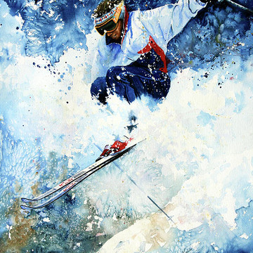 Winter Sports Art Collection