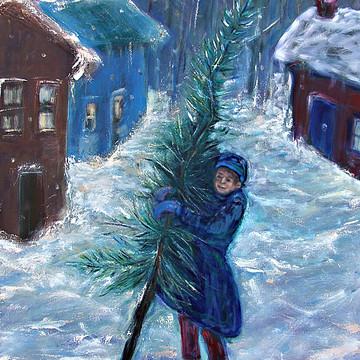 Winter Themed Art by Katt Yanda Collection