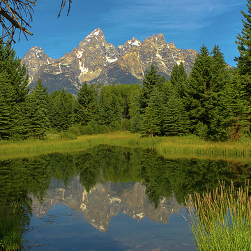 Wyoming mountains and plains Collection