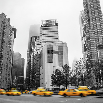 Yellow Cabs in New York Collection