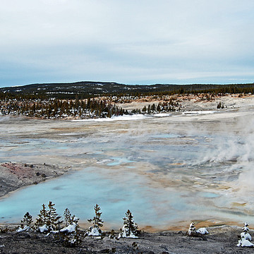 Yellowstone National Park Part III - Norris Geyser Basin Area Collection