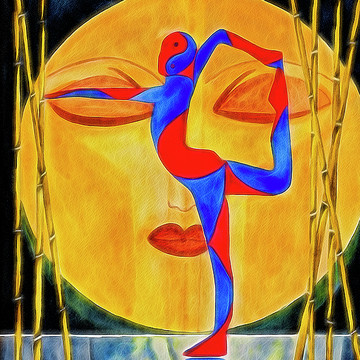 Yoga Poses Art Collection