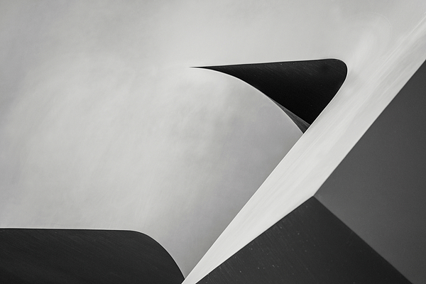 Don Johnson - Abstract in Black and White