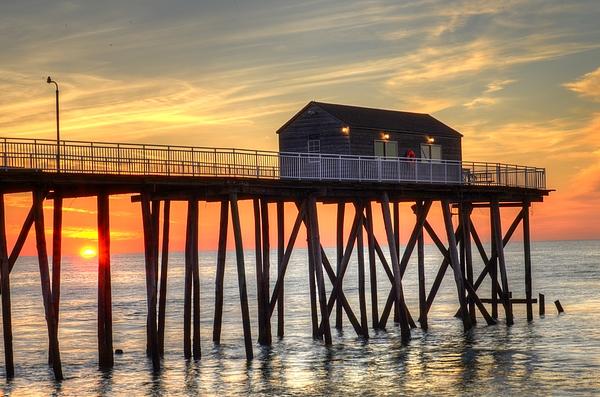 Bob Cuthbert - Belmar Fishing Pier Sunrise