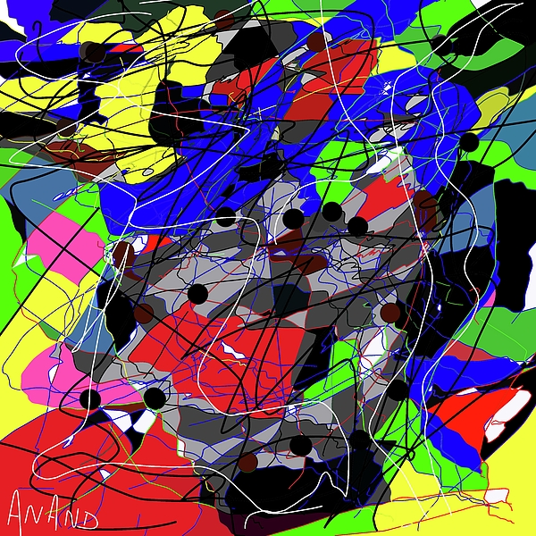 Anand Swaroop Manchiraju - Color Abstraction-1