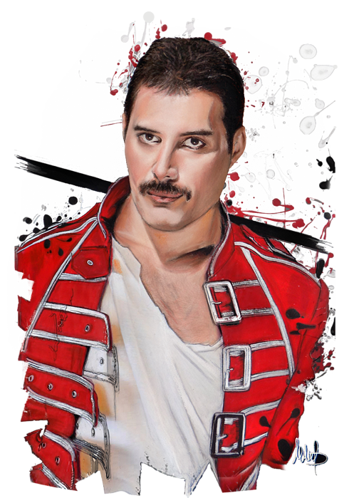 Freddie Mercury Kids T-Shirt for Sale by Melanie D