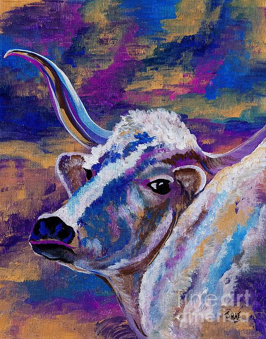 Janice Rae Pariza - How Now Blue Cow