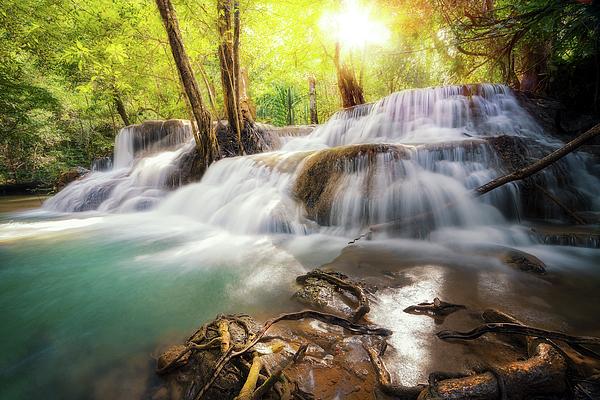 Anek Suwannaphoom - Huai Mae Khamin waterfall