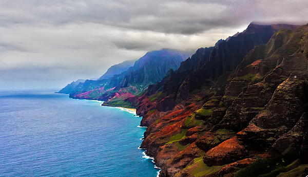 Artistic Photos - Kauai Coastline