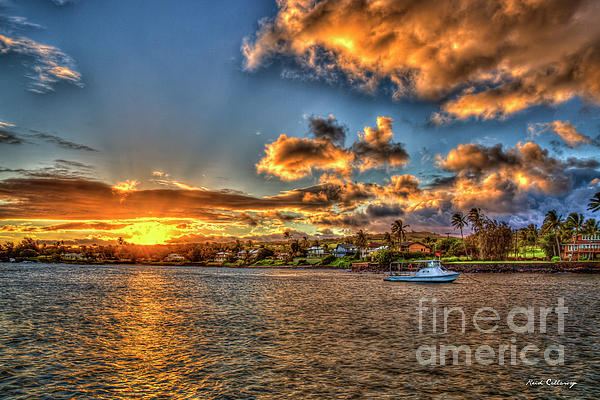 Reid Callaway - Kukui Ula Small Boat Harbor Kauai Sunset Art