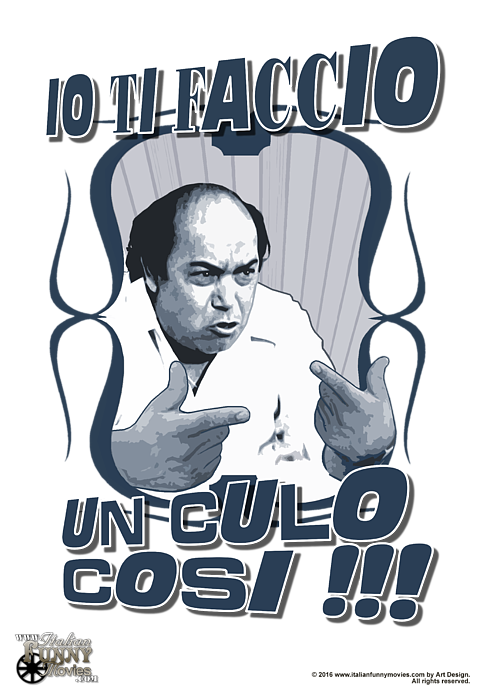 Lino Banfi Expression T-Shirt for Sale by Italian Funny Movies