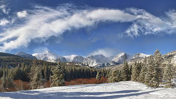 Lena  Owens OLena Art - Rocky Mountain Park
