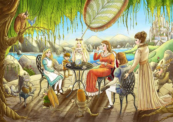Reynold Jay - The Palace Garden Tea Party