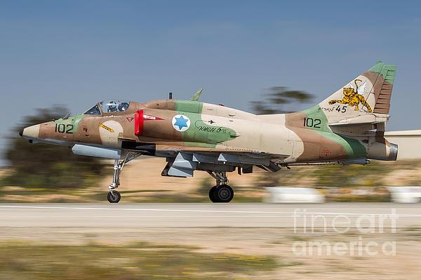 A 4 Skyhawk For Sale >> Israel Air Force A 4 Skyhawk 19 Greeting Card