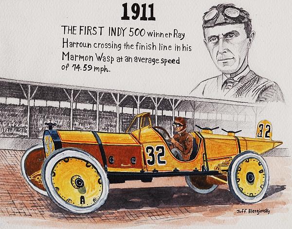 Jeff Blazejovsky - 1911 Indy 500 winner