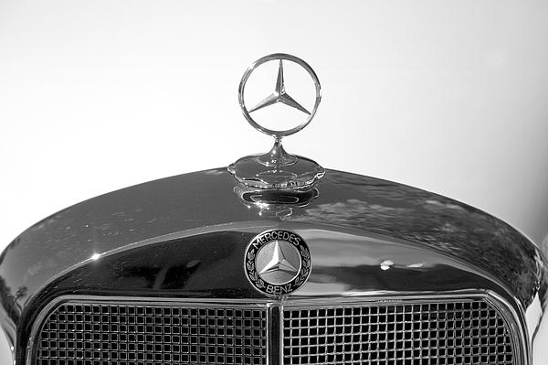 1952 Mercedes Benz 220 Hood Emblem Iphone 5c Case For Sale