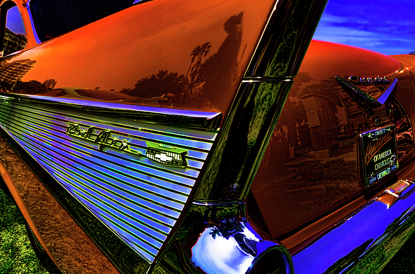 Nate Heldman - 1957 Chevy Bel Air Tail Fin
