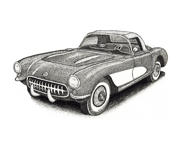 Vintage Corvette Beach Towel 100/% Cotton Car new with tag