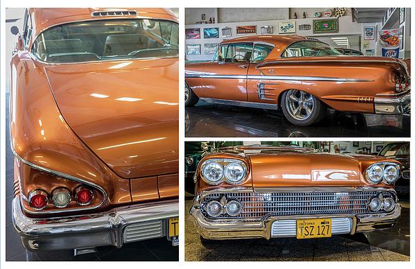 Gene Parks - 1958 Chevrolet Impala X3