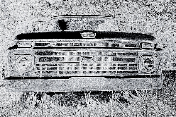 Lisa Wooten - 1966 Ford F100 Sketch