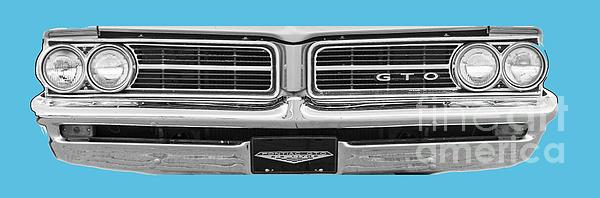 1969 Pontiac Gto Digital Art