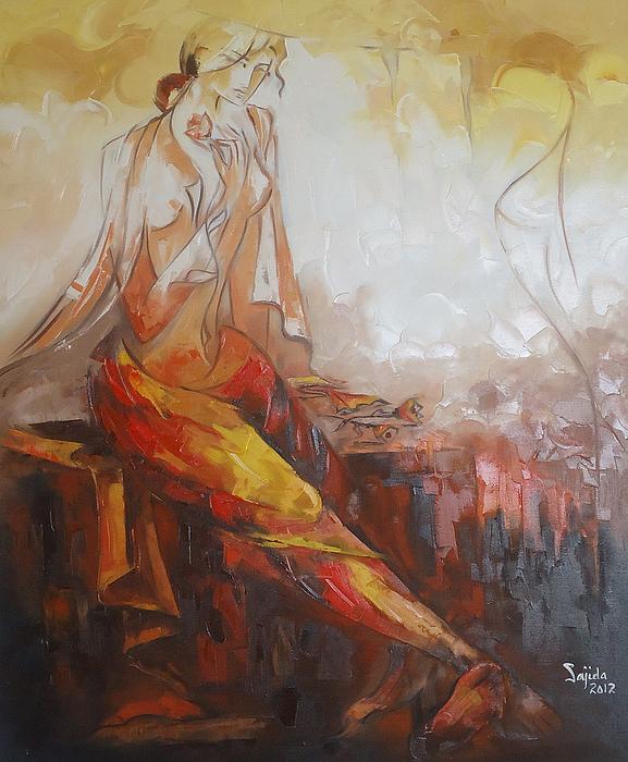 Sajida Hussain - Abstract figurative art
