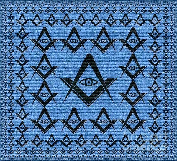 Freemason, Masonic, Symbols Greeting Card