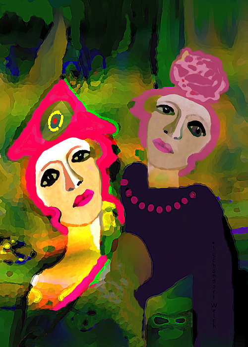 Irmgard Schoendorf Welch - 2755 Two Ladies 2018
