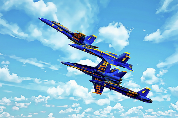 Anthony Dezenzio - Navy Blue Angels