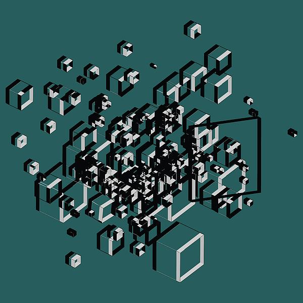 3d Futuristic Bg Digital Art