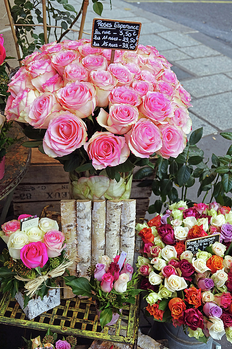 Richard Rosenshein - Flower Shop Display In Paris, France