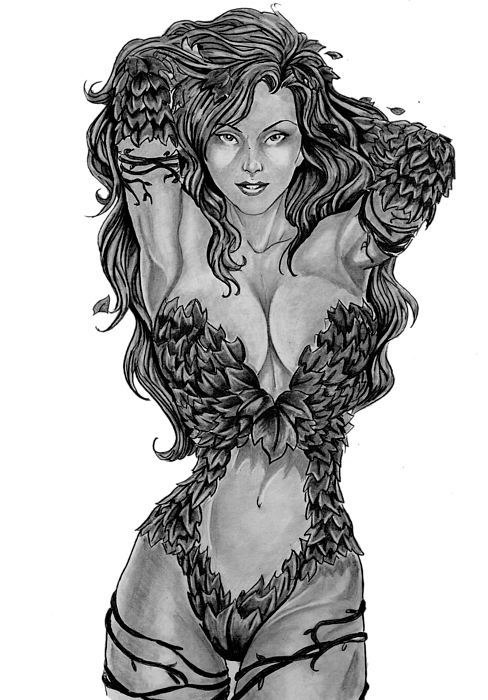 Poison Ivy Shower Curtain For Sale By Bill Richards