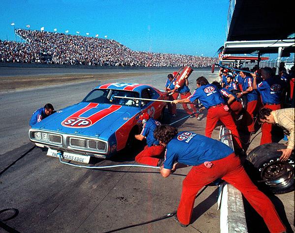 David Bryant - Richard Petty # 43 Stp Dodge Charger At Daytona