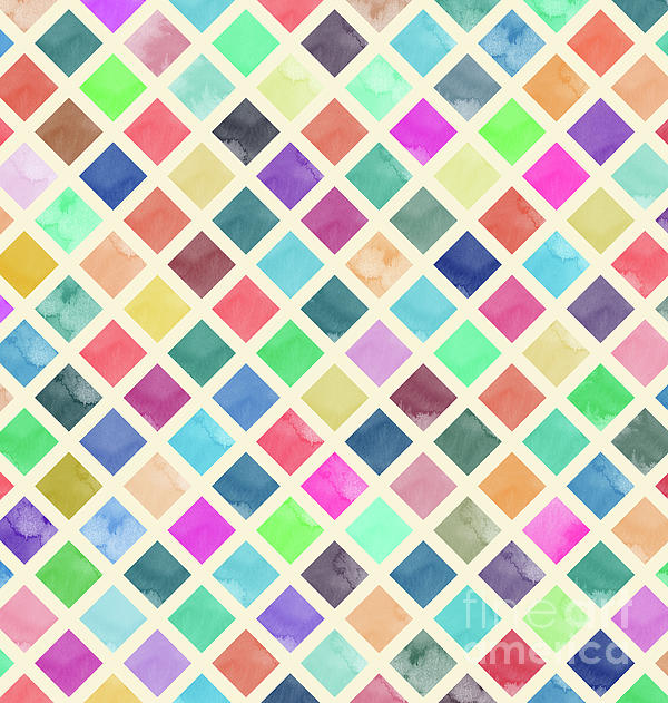 Amir Faysal - Watercolor Geometric Background