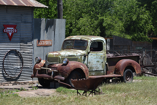 41 Dodge Truck Relic Greeting Card for Sale by Hudson