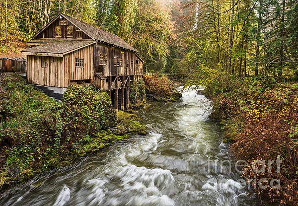 Jamie Pham - The Cedar Creek Grist Mill in Washington State.