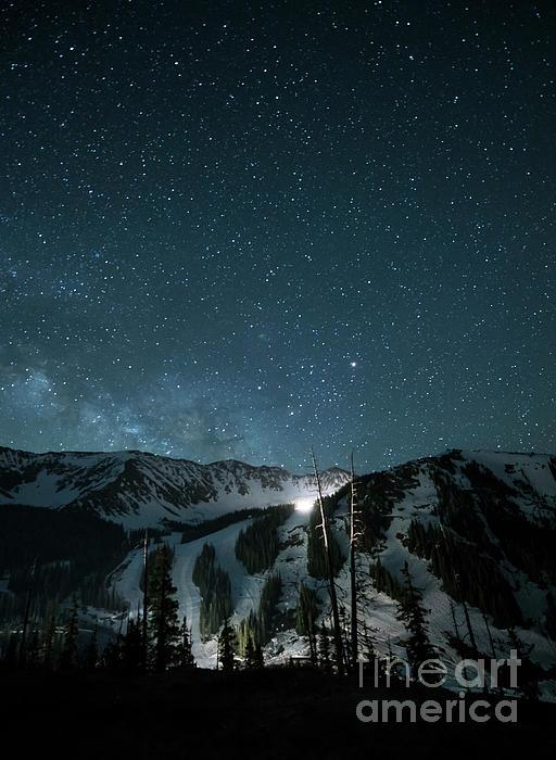 Juli Scalzi - A-Basin at Night