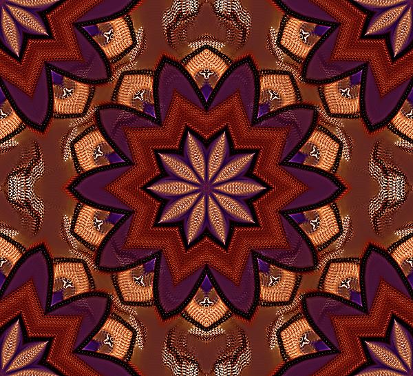 A Bold And Layered Mandala Digital Art