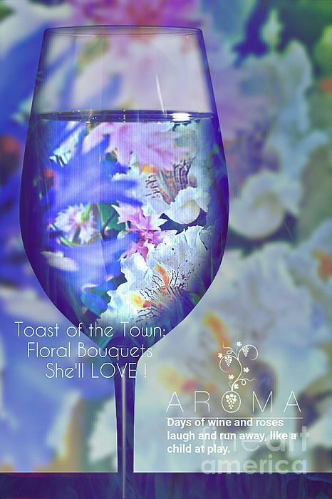 ARTography by Pamela Smale Williams - A Fine Wine Bouquet