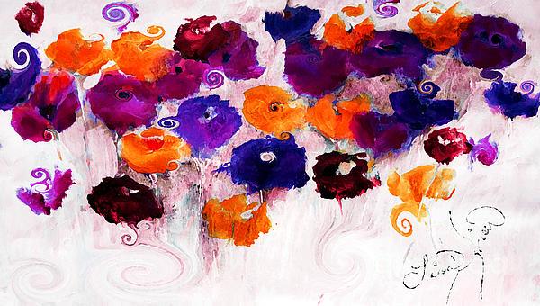Lisa Kaiser - A Floral Moment Acylic