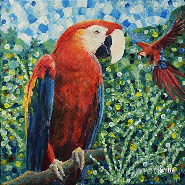 Jim Rehlin - A Parrot Couple