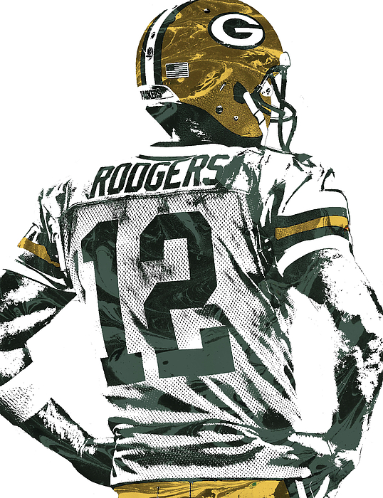 Aaron Rodgers Green Bay Packers Pixel Art 5 Iphone 8 Case For Sale By Joe Hamilton